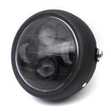 Spesifikasi 6 5 Inch Retro Logam Headlight 35 W Led Headlamp Motor Warna Hitam Intl Merk Oem