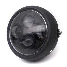 Harga 6 5 Inch Retro Logam Headlight 35 W Led Headlamp Motor Warna Hitam Intl Terbaik
