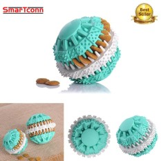 6CM Pet Dog Chew Toys Food Leakage Ball Bite-Resistant Teeth Natural Non-Toxic Rubber Clean Teeth Food Dispenser for Dogs - intl