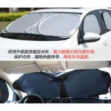6 Pcs Lipat Auto Windshield Sun Visor Dashboard Covers Alat Perawatan Mobil Intl Oem Diskon