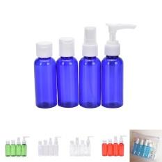 6 Pcs/set Travel Kit Kosong Lotion Kosmetik Wadah Makeup Wadah Botol Semprot Royal-Intl