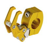 Harga Termurah 2 22 Cm 22 Mm Aluminium Cnc Stang Sepeda Motor Bagasi Dudukan Universal Kait Gantungan Tas Helm
