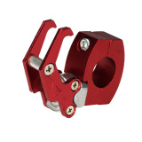 Top 10 7 8 22Mm Cnc Aluminium Motorcycle Handlebar Luggage Helmet Bag Hanger Hook Universal Holder Merah Online