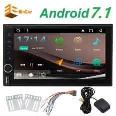 7 Inch Android 71 Octa Core 2 DIN Head Unit RAM 2G ROM 32G GPS Navigasi Mobil Radio Audio Stereo 1080 P Pemutar Video Dibangun Di Wi Fi Bluetooth AM FM RSD
