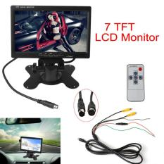 Review Toko 7 Inch Tft Lcd Warna 2 Masukan Video Rear View Headrest Dvd Vcr Monitor Online