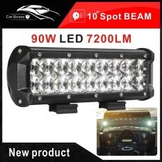 7.2 Inch 90 W Mobil Lampu LED Bar Cree Chip Titik Sorotan ATV 4X4 Offroad Wagon AWD Truk 4WD Pickup SUV DC 12 V 24 V-Intl