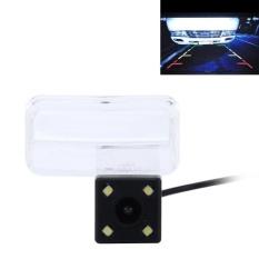 720 × 540 Efektif Pixel PAL 50 HZ/NTSC 60 HZ CMOS II Waterproof Car Rear View Cadangan Kamera Dengan 4 Lampu LED Untuk 2014-2016 Versi Toyota Corolla Dan 2014-2017 Versi VIOS-Intl