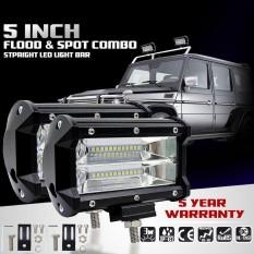72 W Spot Lampu LED Kerja Lampu Panjang Mengemudi Kabut Offroad 4WD Mobil Kapal Truk Lampu Suv-Intl