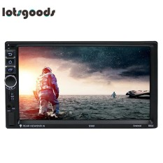 Review Tentang 7In 2 Din Quad Core Android Bluetooth Car Gps 1080P Mp5 Player Intl