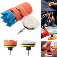 Spesifikasi 7 Pcs 3 Inch Buffing Pad Auto Mobil Polishing Waxing Roda Kit Bor Adaptor M14 Intl Murah Berkualitas