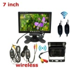 Beli 7Tft Lcd Car Rear View Monitor Cadangan Wireless Tempat Penyimpanan Kamera Night Vision Internasional
