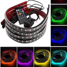 Jual 8 Warna Led Strip Under Car Underglow Underbody Glow Sistem Neon Lampu Kit Intl Di Bawah Harga