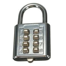 Harga 8 Digit Kode Kombinasi Gembok Koper Bagasi Kunci Sandi Keamanan Perjalanan Internasional Dan Spesifikasinya