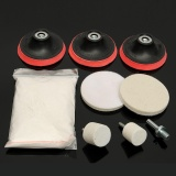 8 Oz Glass Scrach Remover Polishing Kits Tool Cerium Oxide Powder Wheel Felt Intl Not Specified Diskon