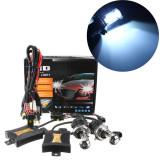 Harga 8000 Kb 1 Set Xenon Hid Kit Konversi H4 55 Watt Dc 12 V Ganda Sinar Lampu Internasional Murah