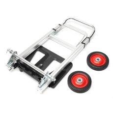 80 Kg Tugas Berat Aluminium SackTruck Trolley Hand Cart Troli Yang Dilipat Barrow-Intl