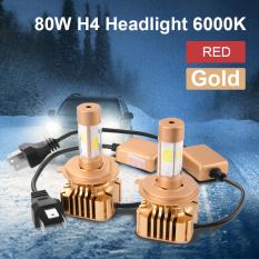 Spesifikasi 80 Watt H4 9003 Led Emas Cahaya Lampu Mobil Di Hi Lo Balok Pentol Kit 6000 Kb Putih Ld789 Xcsource