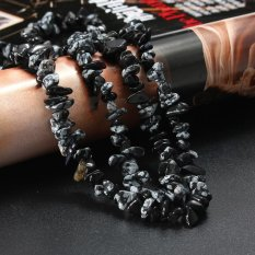 88 Cm Freeform Batu Kepingan Batu Permata DIY Beaded Crystal Perhiasan Kerikil Aksesoris-Intl