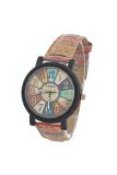 Jual 8 Tahun B90151 Wrist Watches Wanita Kopi Satu Set