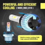 9005 H10 Hb3 6000K Led High Power Front Fog Lamps Bulbs Intl Di Tiongkok
