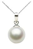 Beli 925 Sterling Perak Cantik Putih Mode Perhiasan Mutiara Pasangan Hadiah Tanpa Rantai Pakai Kartu Kredit