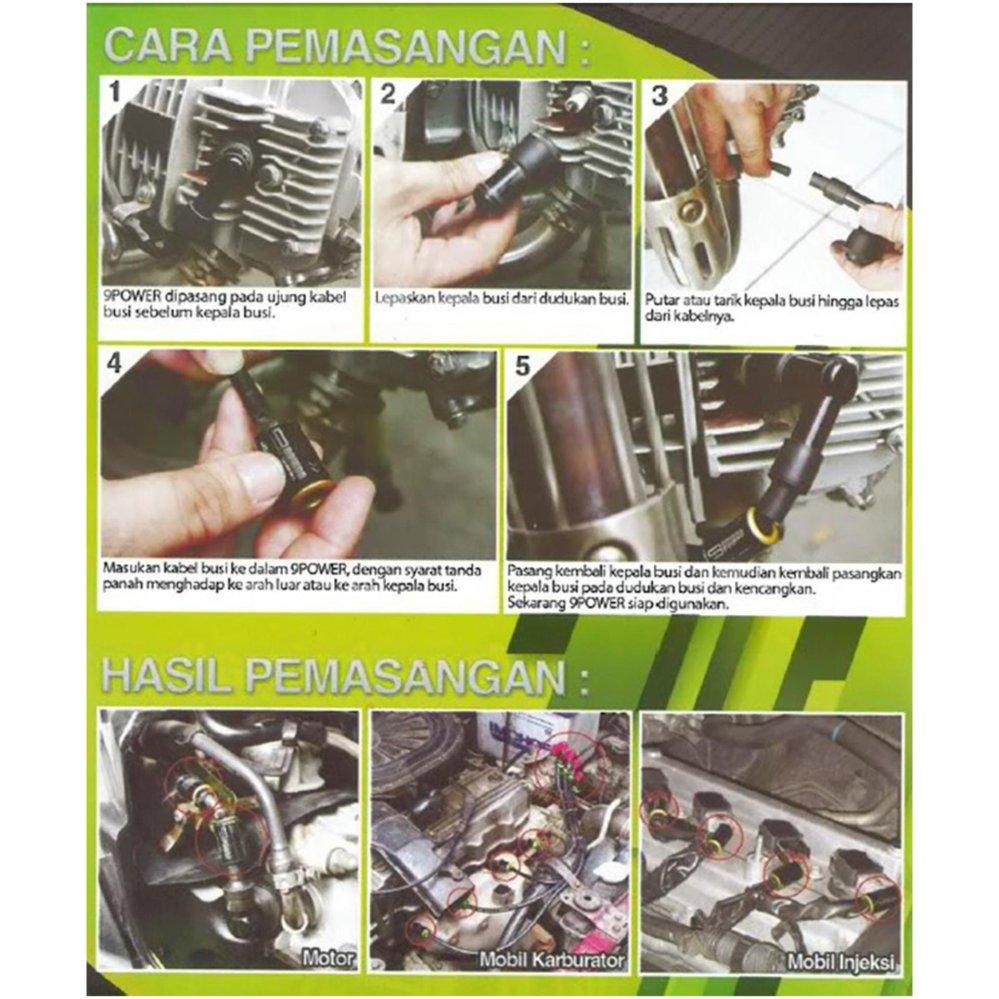 9Power Coil Booster - Peningkat Akselerasi / Penghemat BBM Kendaraan - 2 Pcs | Lazada Indonesia