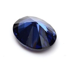 9X11mm Biru Dipotong Oval 4.52 Karat Safir Batu Permata Longgar For Hadiah Teman & #45; Internasional