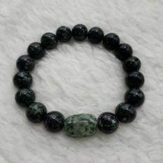 Jual A Kha Gelang Kesehatan Black Jade 10Mm Acc 1 Kapsul Black Jade 10Mm L North Sumatra
