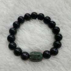 Review Terbaik A Kha Gelang Kesehatan Black Jade 10Mm Acc 1 Kapsul Black Jade 10Mm S