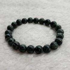 Jual A Kha Gelang Kesehatan Black Jade Motif Corak Unik 8Mm 100 Batu Alam Online Di North Sumatra