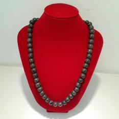 Jual A Kha Kalung Kesehatan Black Jade 10Mm 60 Butir 100 Batu Alam A Kha