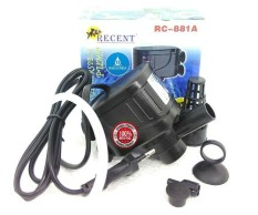 A045 Power Head Recent RC-881A Pompa Air Aquarium Filter Mesin Awet