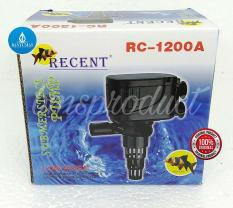 A046 Power Head Recent RC-1200A Pompa Air Aquarium Mesin Filter Celup