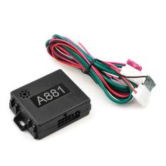 A881 Mobil Alarm Remote Start Sistem Tanpa Kunci Sistem Keamanan Kendaraan LCD-Intl