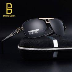 AAA Kualitas Alloy Polarized Sunglasses untuk Pria Mengemudi Square Vintage Asli Merek Mewah Oversized Sun Glasses