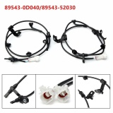 Spesifikasi Abs Wheel Speed Sensor Front Left Right For Scion Xd Toyota Yaris Set 2 Black Intl Dan Harga