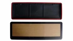 Katalog Absolute Tatakan Plat Nomor Mobil Acrylic Led Biru Absolute Terbaru