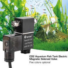 Jual Ac 220 V Suhu Rendah Co2 Ikan Aquarium Tank Electric Mag Netic Solenoid Valve Black Intl Branded Murah