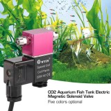 Spek Ac 220V Low Temperature Co2 Aquarium Fish Tank Electric Magnetic Solenoid Valve Red Intl