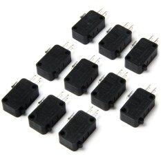Jual Beli Ac 250 V 6A Listrik Kontrol Daya 3Pin Saklar Mikro For Peserta Didik For Diy 10 Pcs Hitam Intl Di Tiongkok