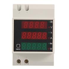 Beli Ac Ac Digital Watt Tenaga Listrik Meteran Pengukur Tegangan Volt Tegangan Saat Ini Pengukur Amper Cicil