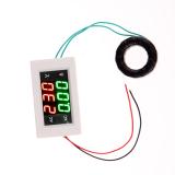 Ulasan Mengenai Lcd Panel Ac Digital Pengukur Amper Pengukur Tegangan Volt Meter Amplifier Volt 100 Amp 300 V Putih