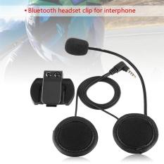 Jual Aksesoris Bluetooth Headset Headphone Mikrofon Untuk V4 V6 Motor Helm Intercom Murah Di Tiongkok