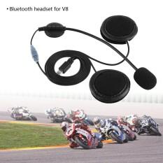 Beli Accessories Bluetooth Headset Headphone Microphone For V8 Motorcycle Helmet Intercom Intl Kredit