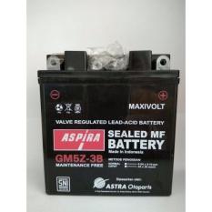 Jual Accu Aki Motor Aspira Gm5Z 3B Mf Ori Astra Satu Set