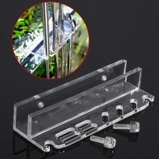Acrylic Aquarium Fish Tank Water Plant Scissor Scraper Spatula Maintenance Holder Storage Rack