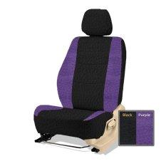Adepe sarung jok sporty mobil Grand Livina( black purple b )