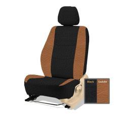 Adepe sarung jok sporty mobil Great Xenia 2015-2017( black - saddle  )