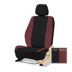 Adepe sarung jok sporty mobil Nissan Evalia( black - maroon )