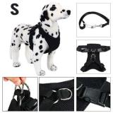 Top 10 Adjustable Dog Harness For Medium And Large Breed Plus Seatbelt Safe Easy Walk Black S Ps025 Online